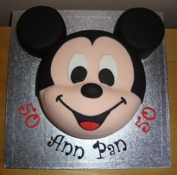 Pictures Of Mickey Mouse Face Cakes : Celebration Cakes - Cakes from my Kitchen