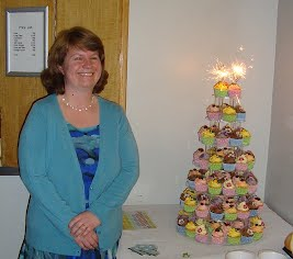 clare and her cupcakes